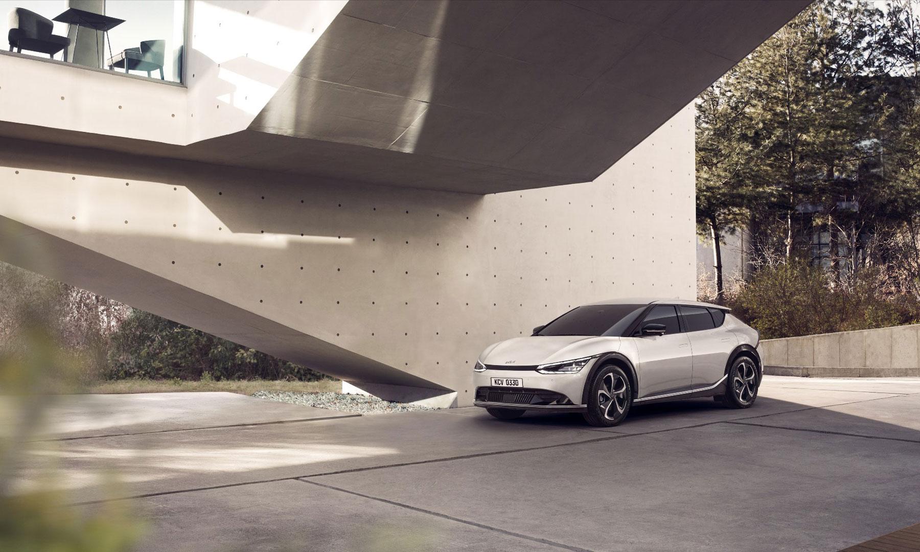 Der KIA EV6, Weltpremiere, KIA entwickelt umweltfreundliche Elektrofahrzeuge
